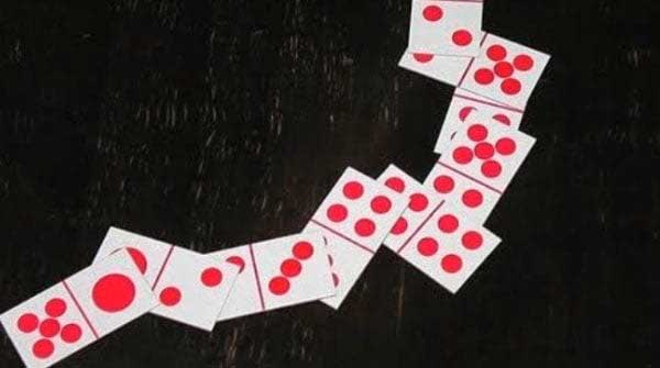 contoh kartu domino susun